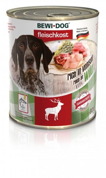 Bewi-Dog Fleischkost Reich an Wild