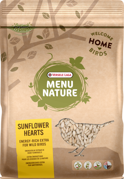 Menu Nature Sunflower Hearts