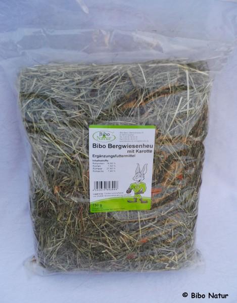 Bibo Bergwiesenheu mit Karotte