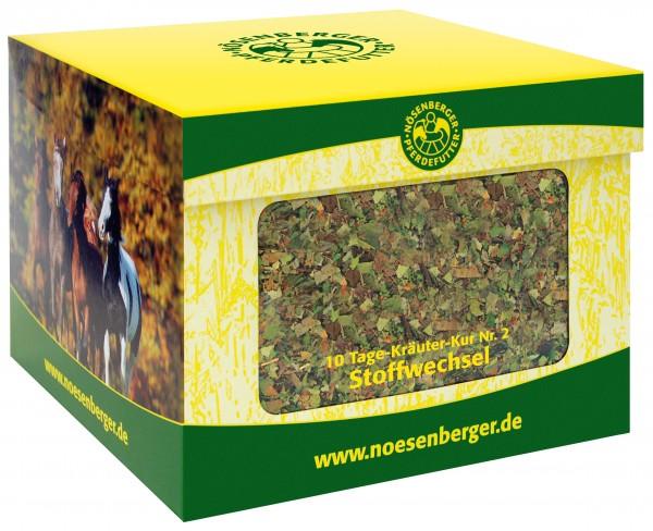 Nösenberger 10 Tage Kräuter-Kur Nr. 2 Stoffwechsel