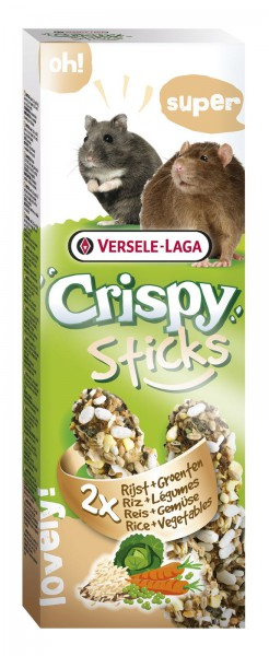 Crispy Sticks Reis+Gemüse
