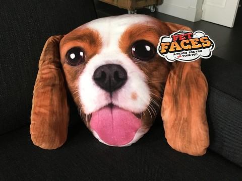 Kissen Petface King Charles