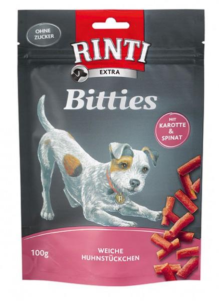 Rinti Extra Chicko Bitties - Hühnchen mit Karotten und Spinat