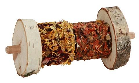 Rollbuffet auf Holzspieß