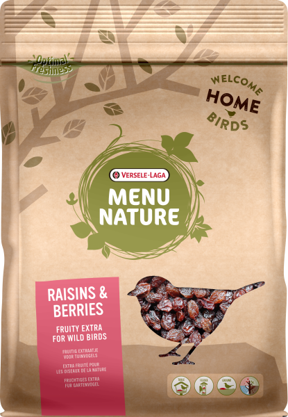Menu NAture Raisins & Berries