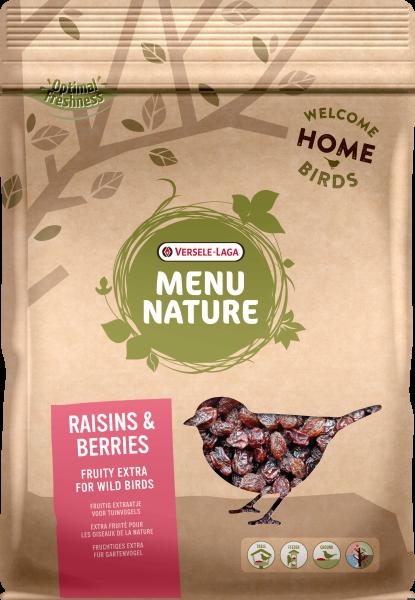 Menu NAture Raisins & Berries