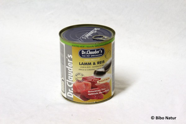 Dr.Clauder's Selected Meat Lamm&Reis