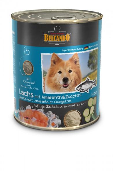 Belcando Lachs mit Amaranth & Zucchini