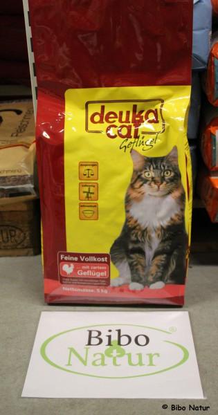 deuka cat - mit Geflügel